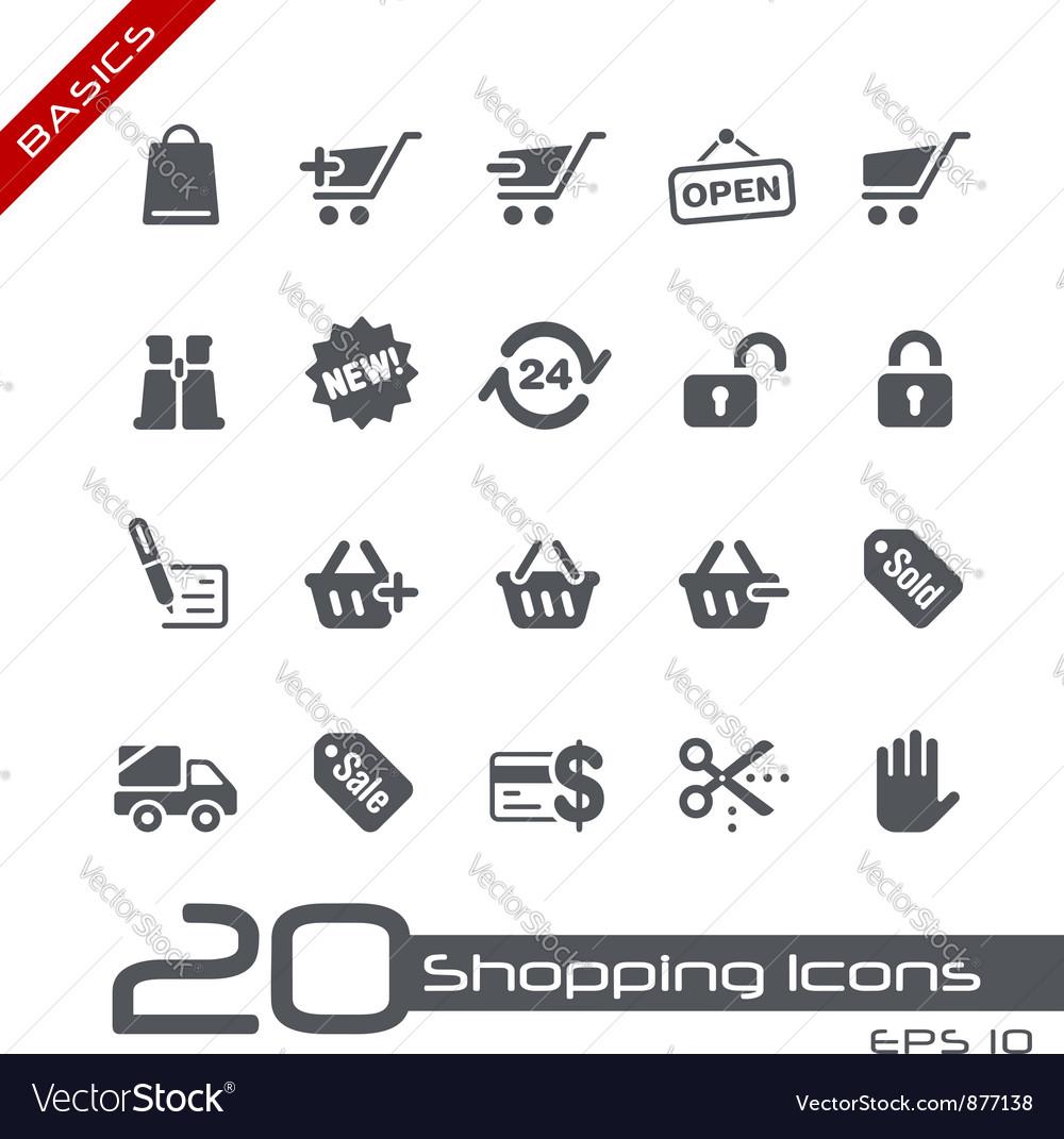 Shopping Basics Series