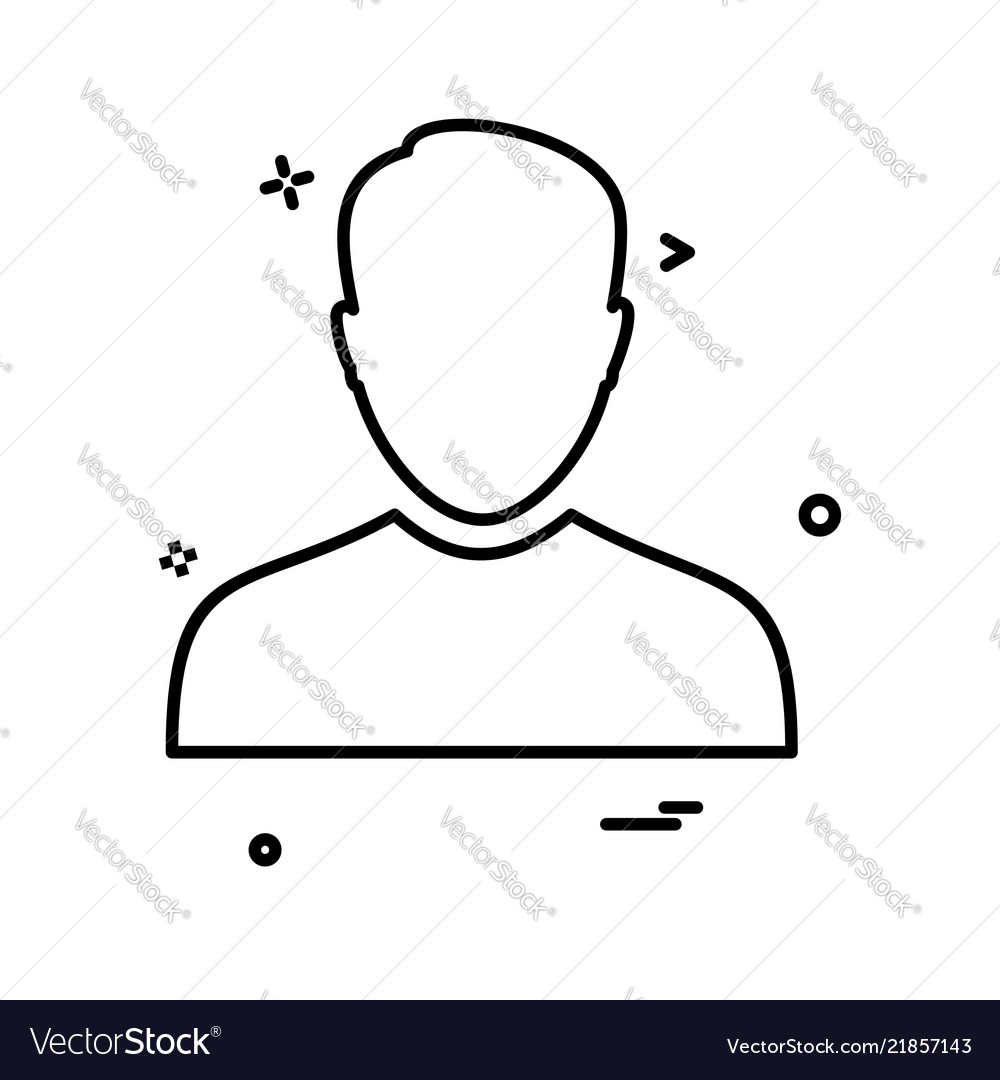 Avatar male icon design