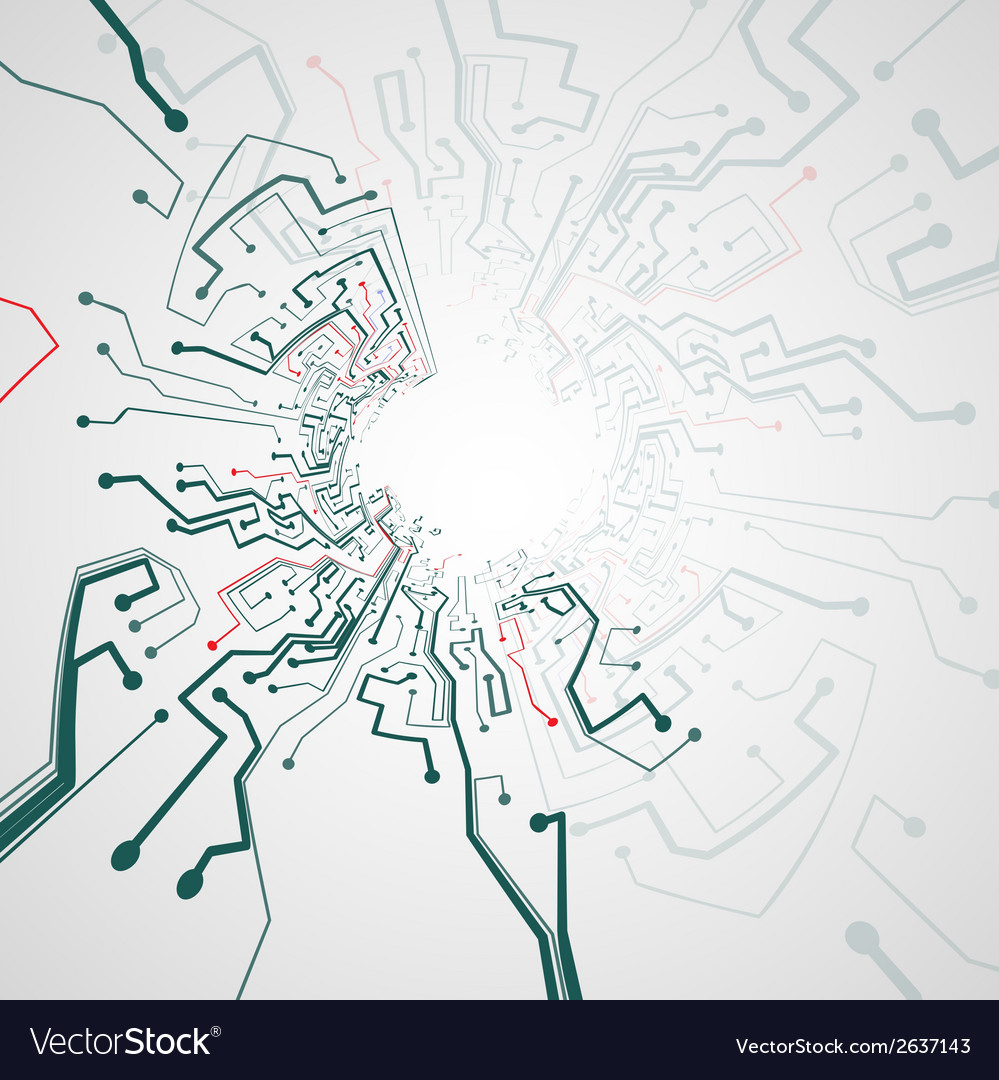 Circuit board background Royalty Free Vector Image