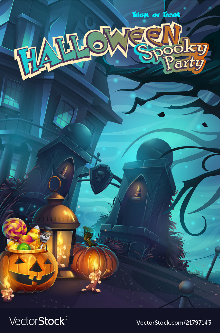 Halloween spooky party