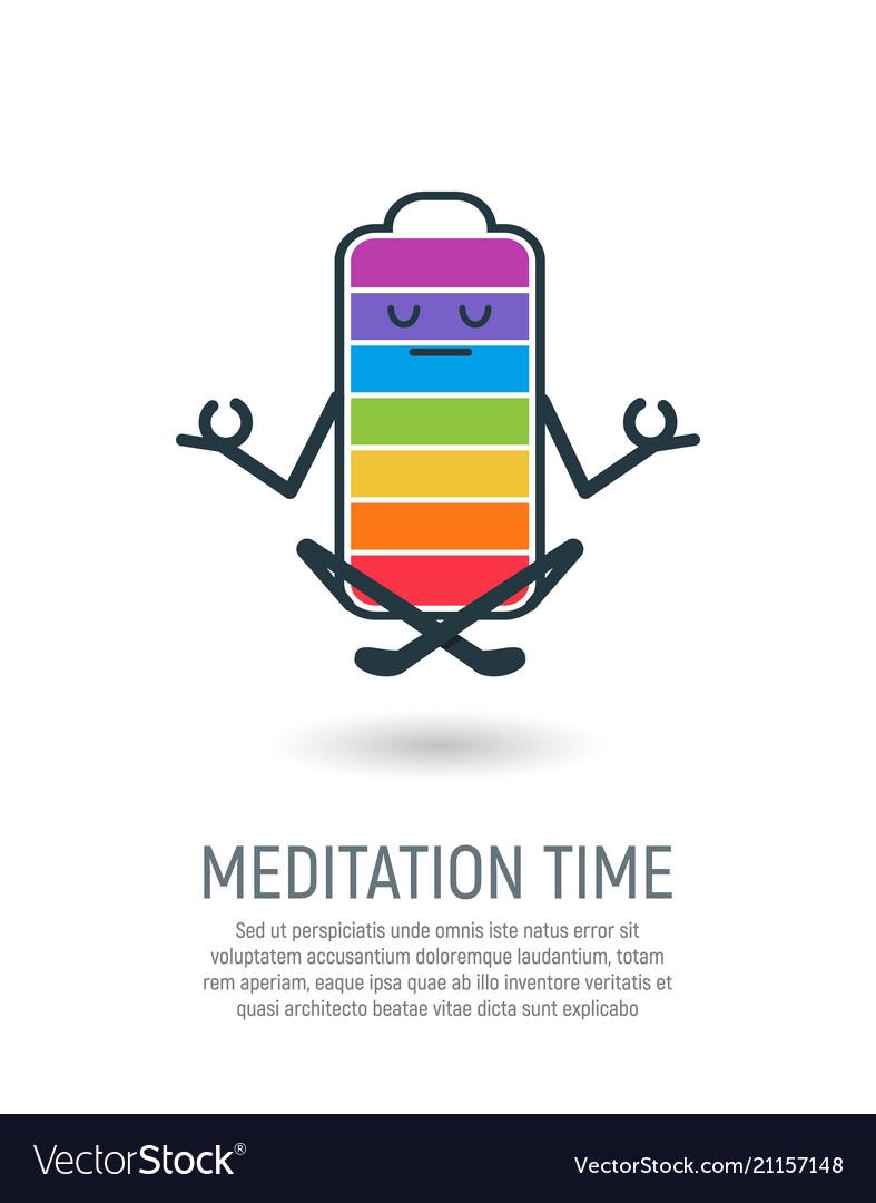 Yoga lotus position isolated