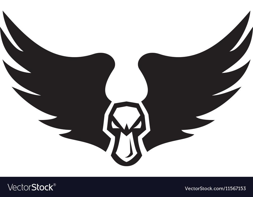 Angry Mallard Duck Head Wings Retro