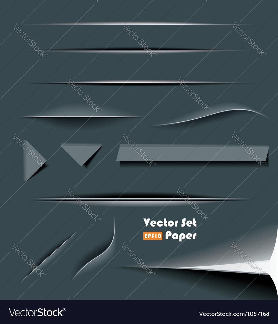 Web divider set