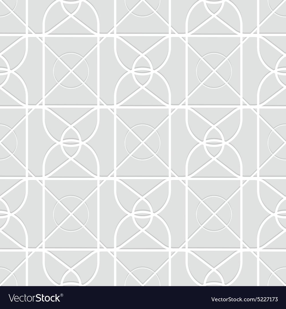 Arabic geometric pattern Creative design vector image
