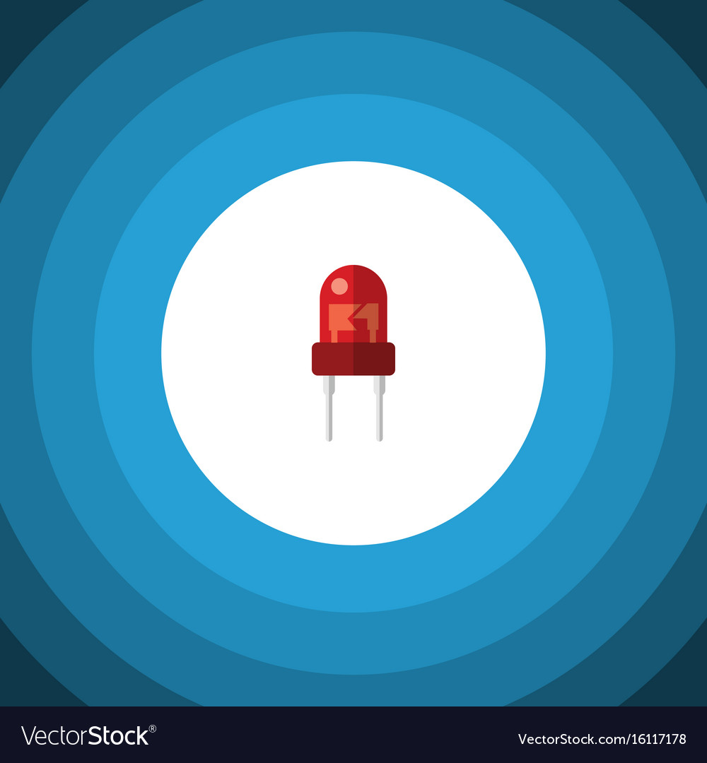 Isolated indicator flat icon recipient