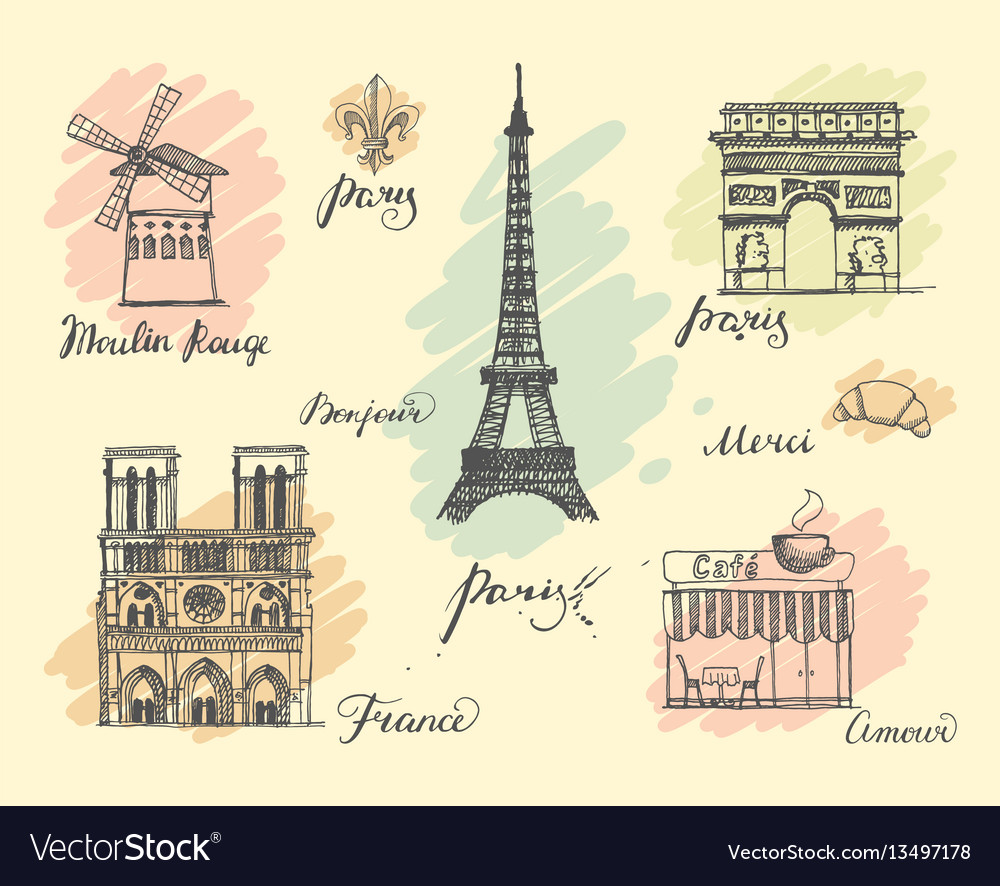 Paris sketches collection