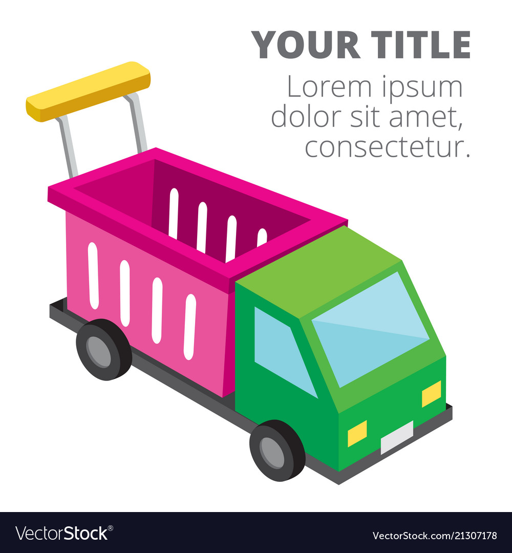 Shopping infographic car cart background im