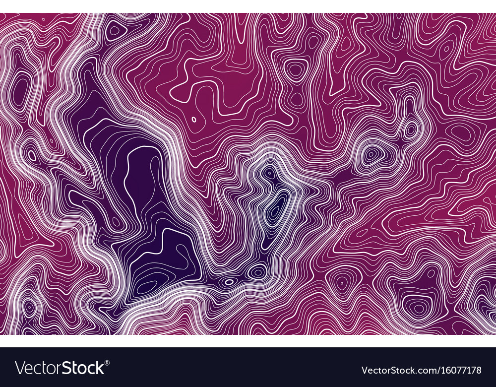 Topographic map background with space for copy