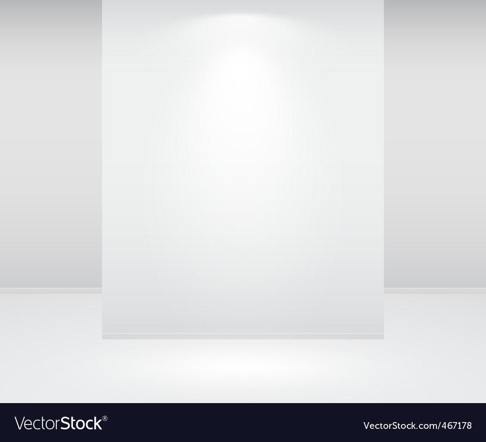 Wall and lights