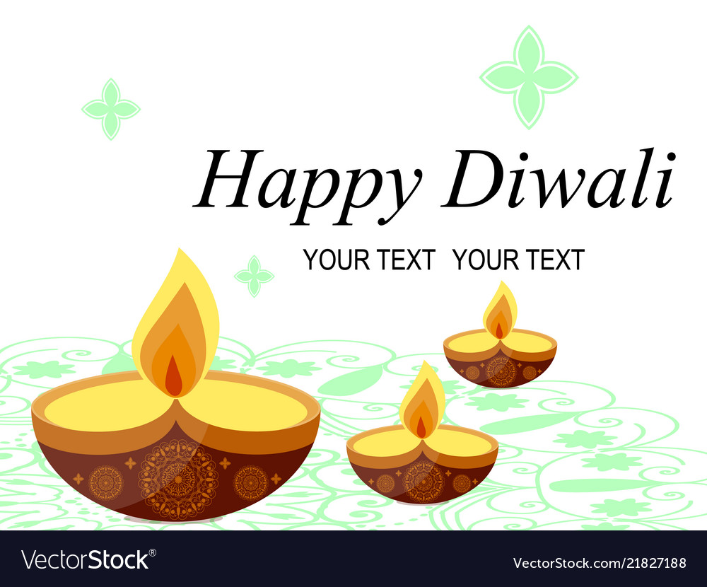 Abstract beautiful happy diwali background stock
