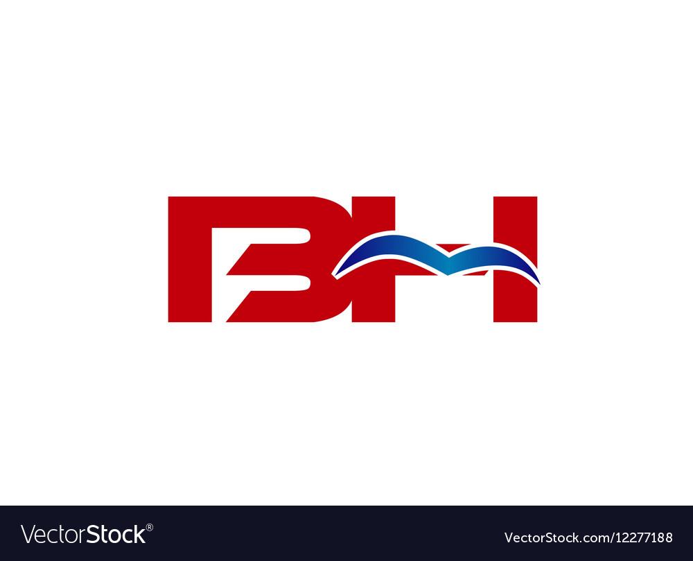 B and H logo vector image