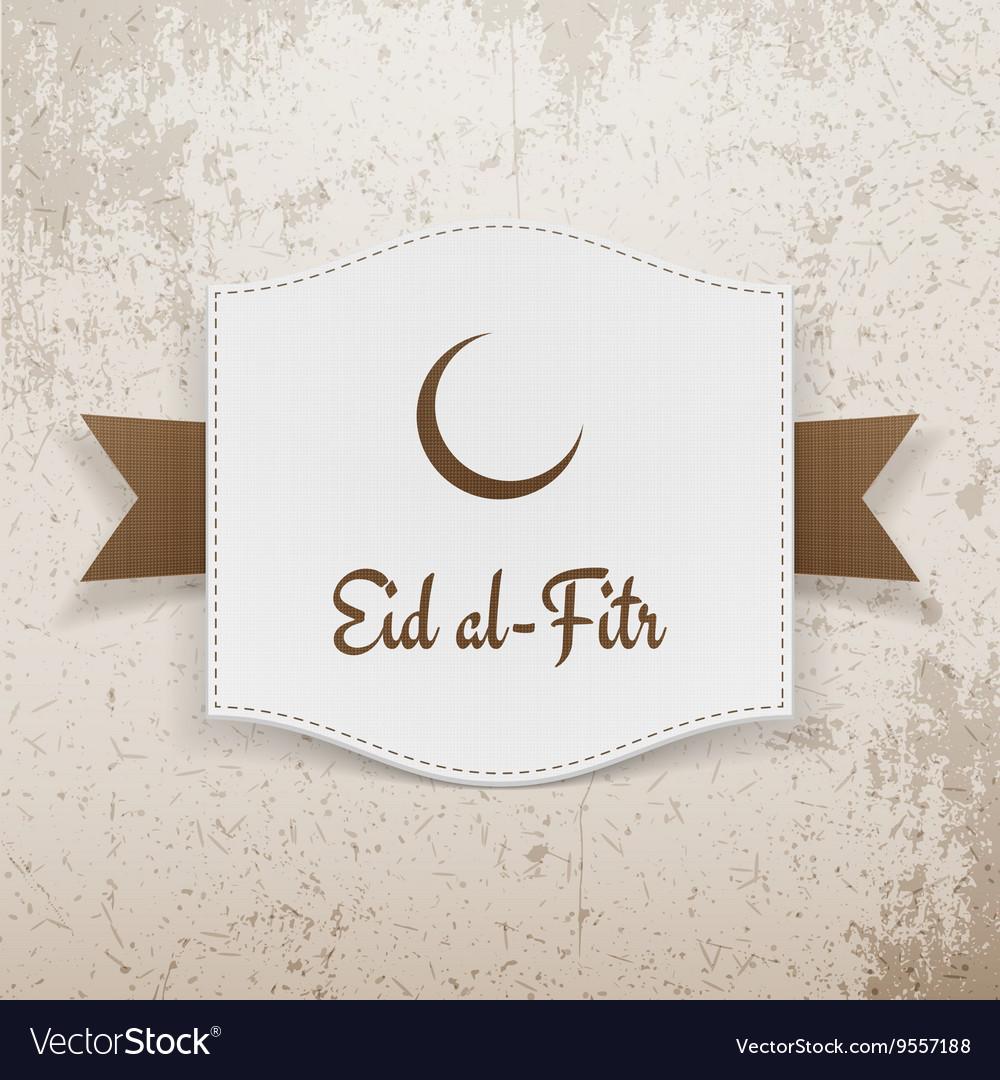 Eid al fitr muslim greeting poster royalty free vector image eid al fitr muslim greeting poster vector image m4hsunfo