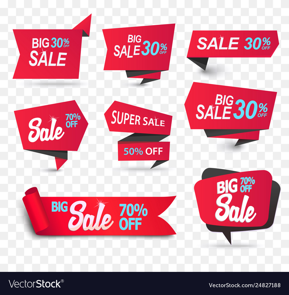Sale shop product tag label or sale poster