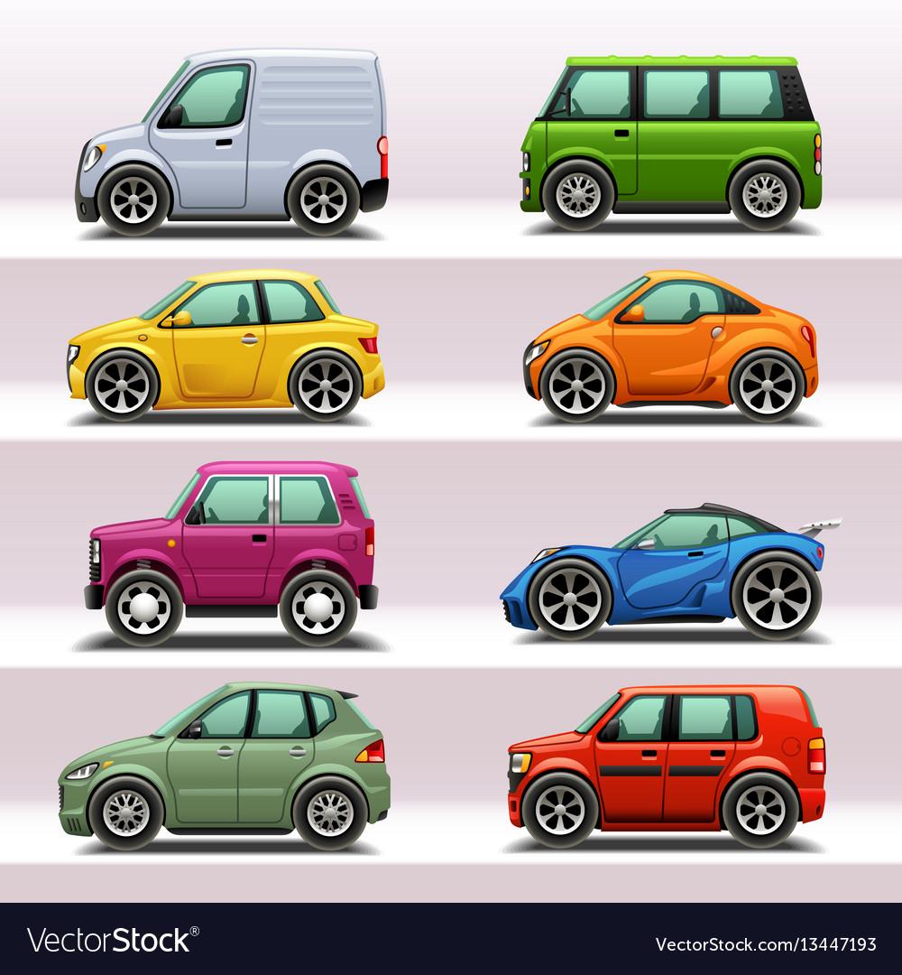 Car icon set-4