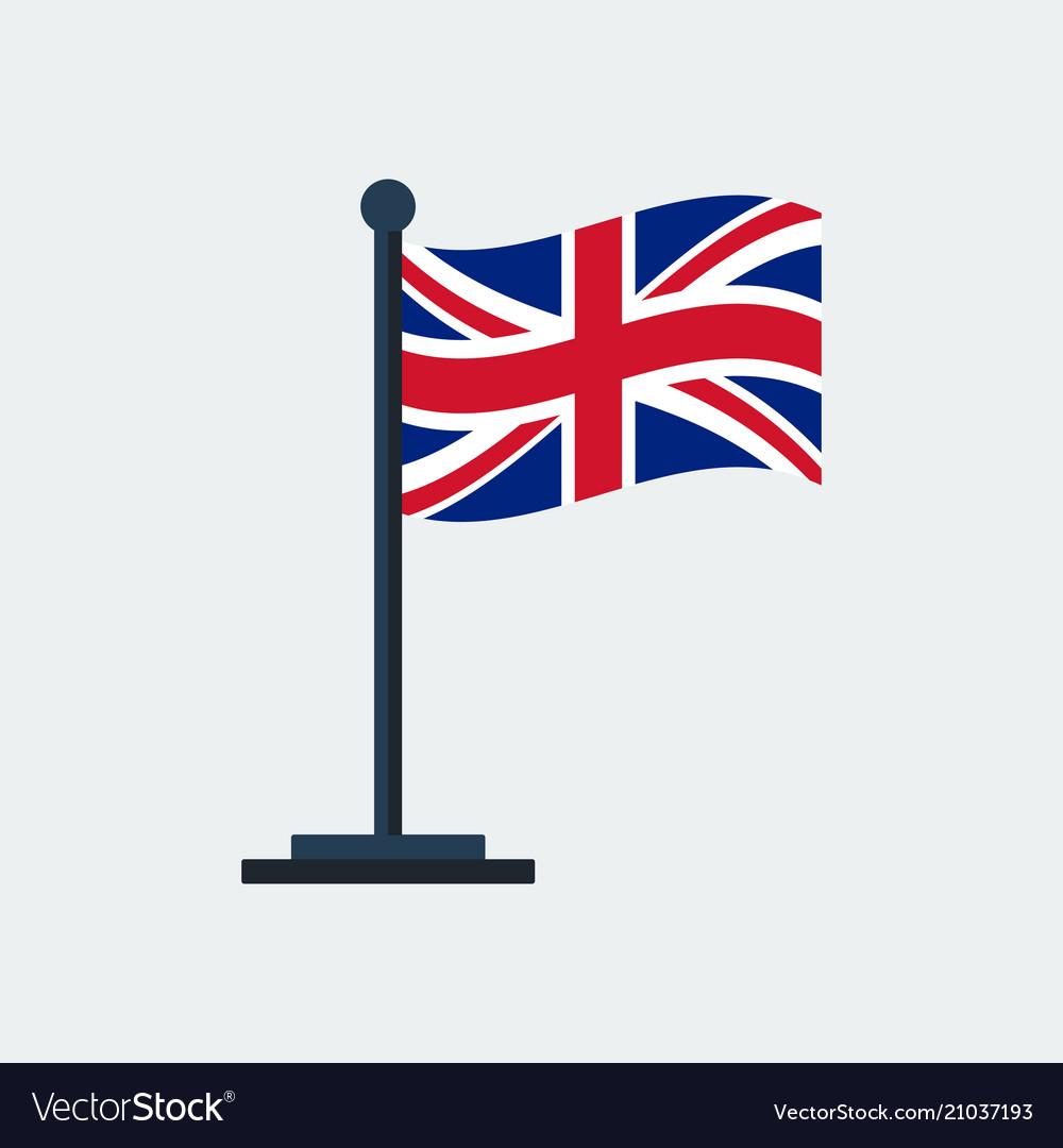 Flag of united-kingdomflag stand