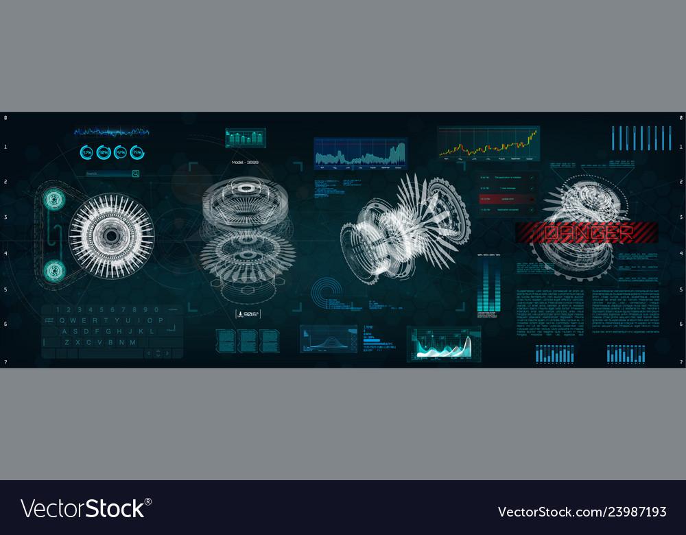 Mechanical scheme hud style