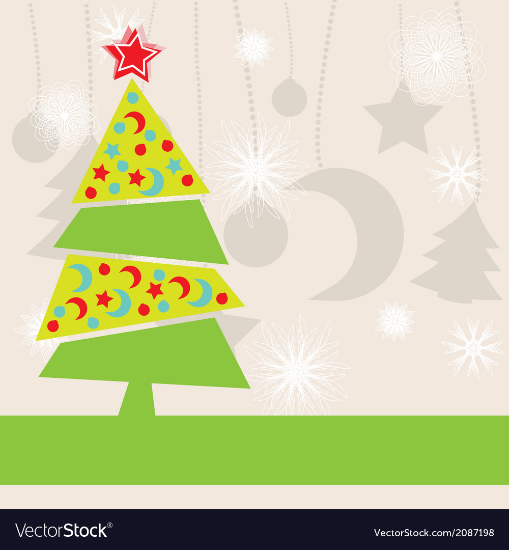 Christmas kids background Royalty Free Vector Image
