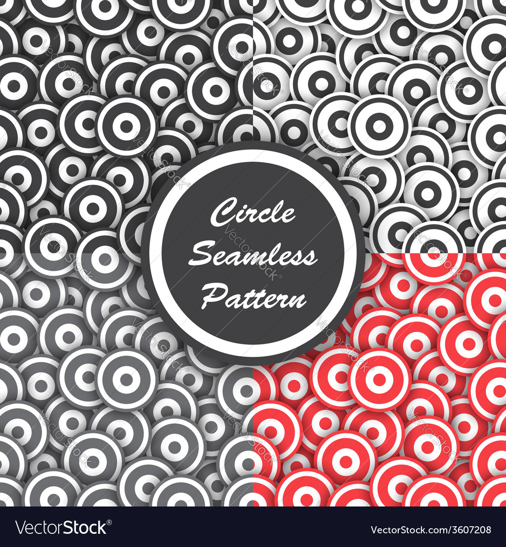 Circle seamless pattern abstract background