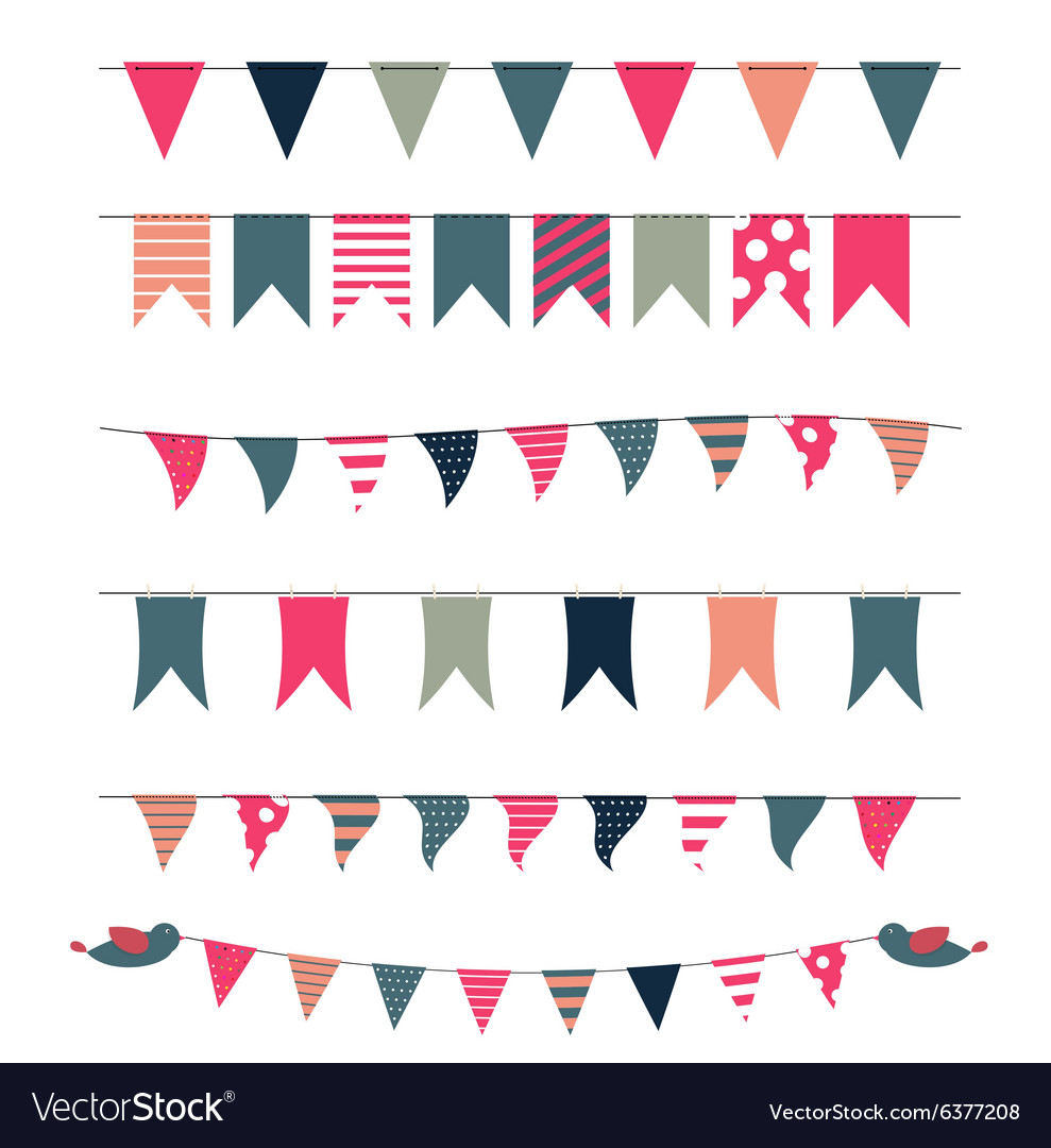 Party Flags Set