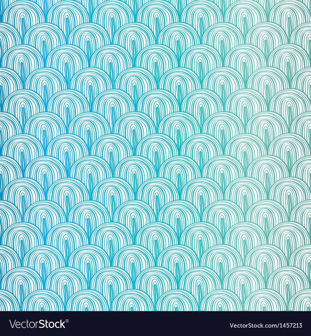 Blue squama pattern