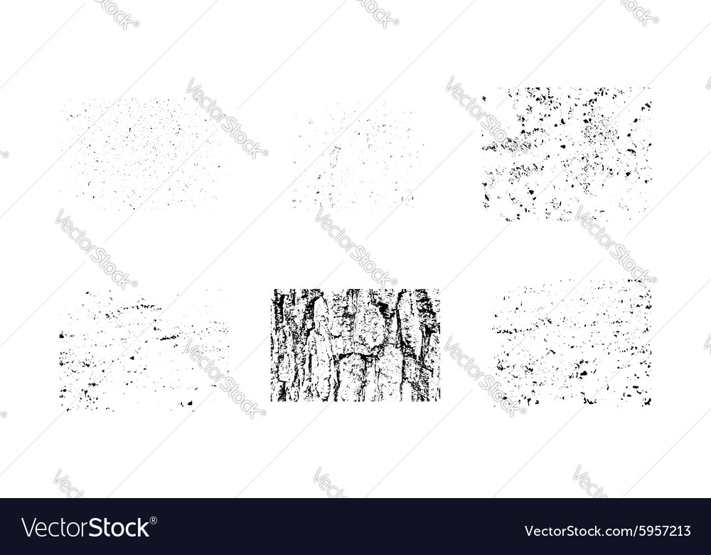 Collection of grunge textures Make your own vector image