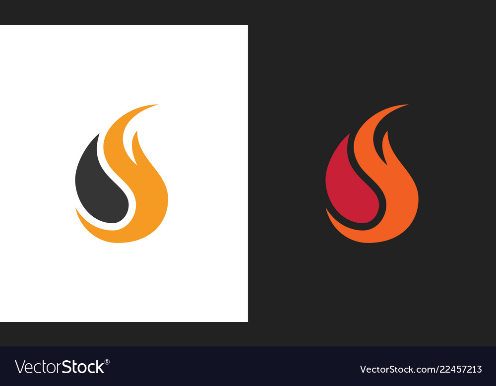 Fire flame logo