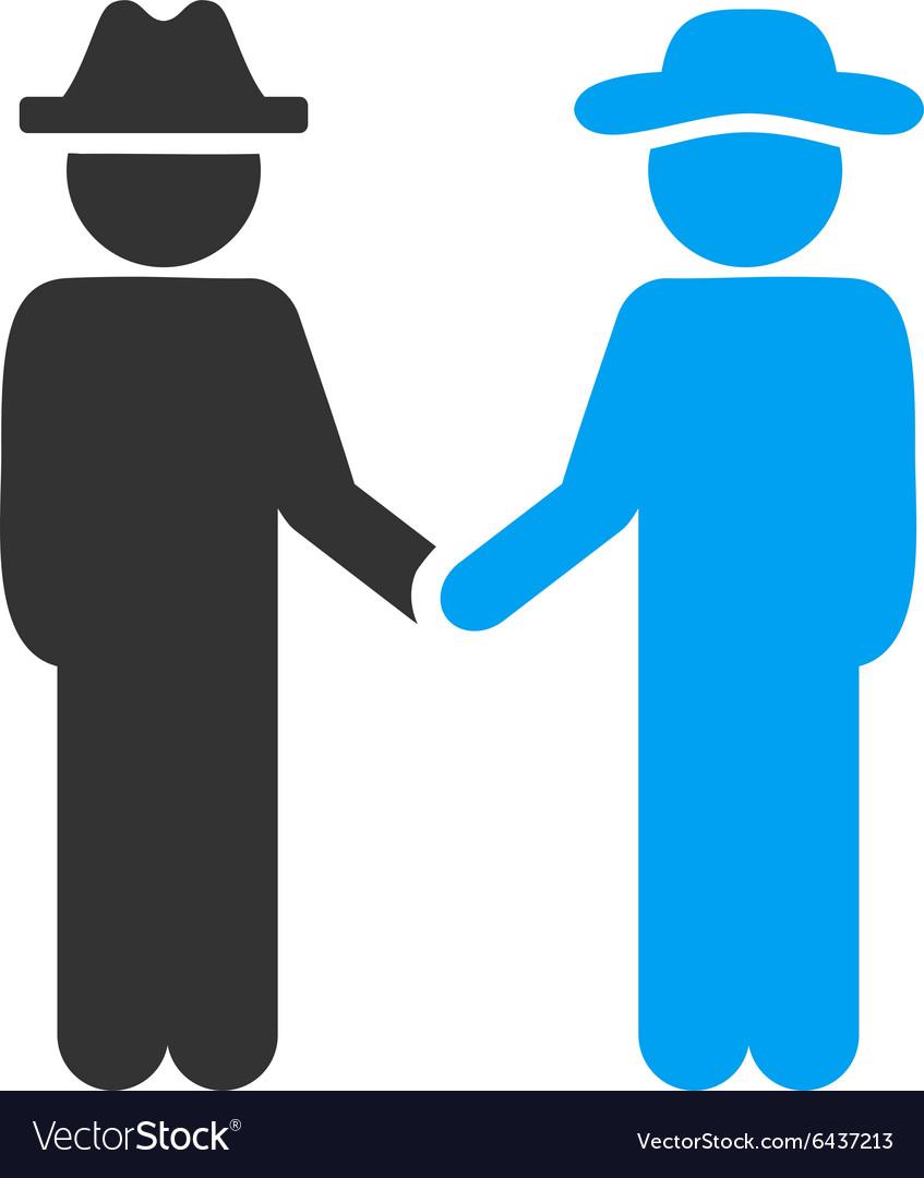 Man Handshake Icon