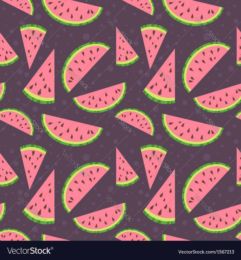 Watermelon colorful seamless pattern
