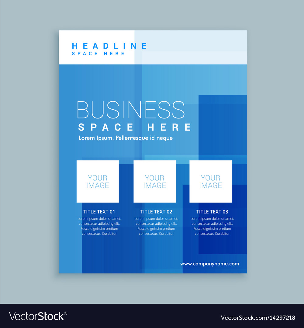 Marketing Brochure Template | Business Marketing Flyer Brochure Template Vector Image
