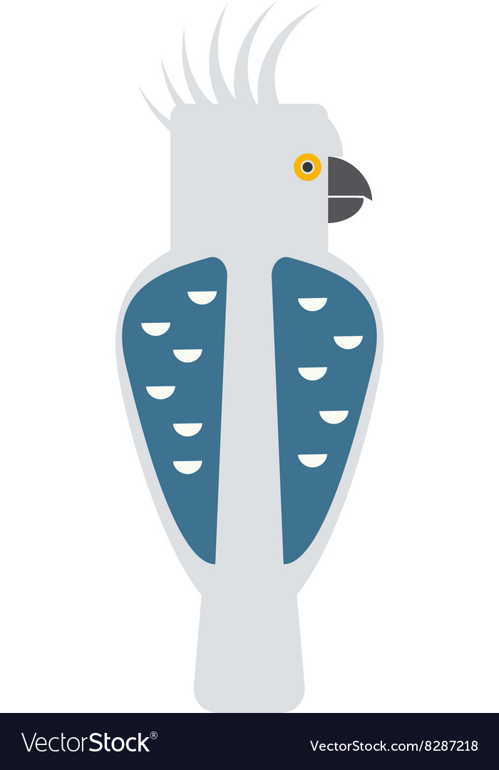 Cartoon parrot wild animal parrot bird tropical