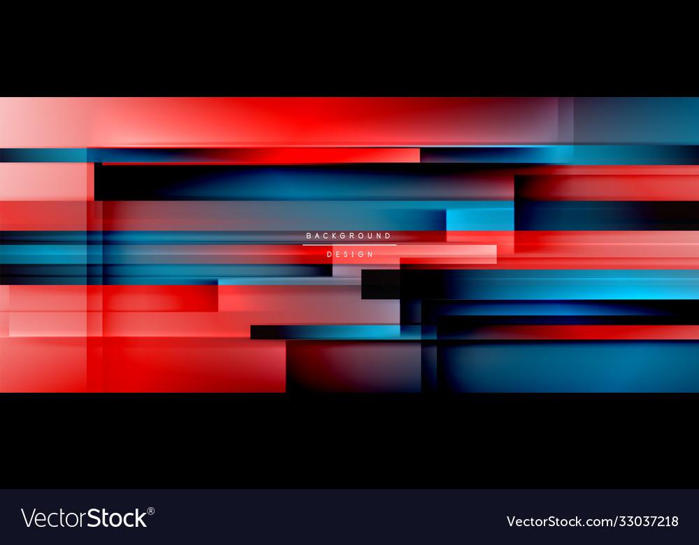 Dynamic lines on fluid color gradient trendy