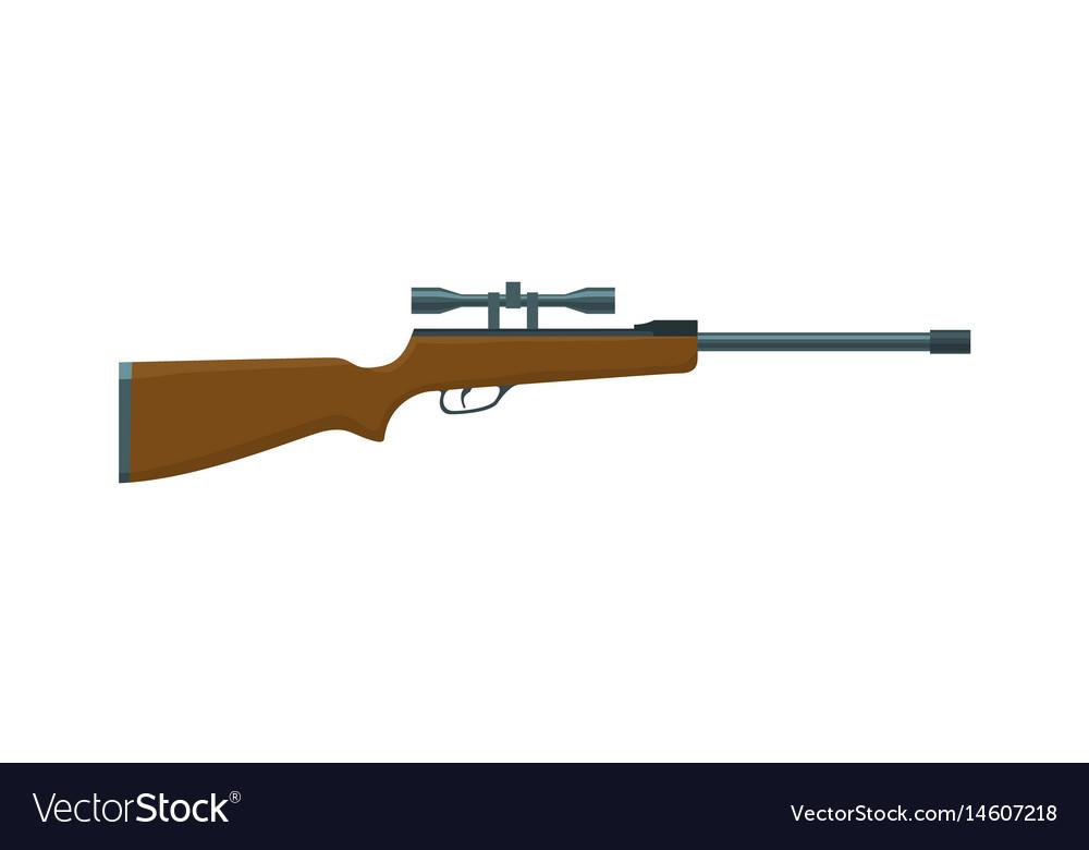 Hunting rifle vector image