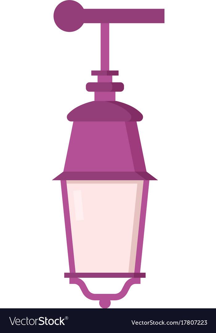 Street lantern icon