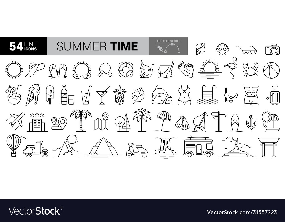 Travel hand-draw doodle background tourism