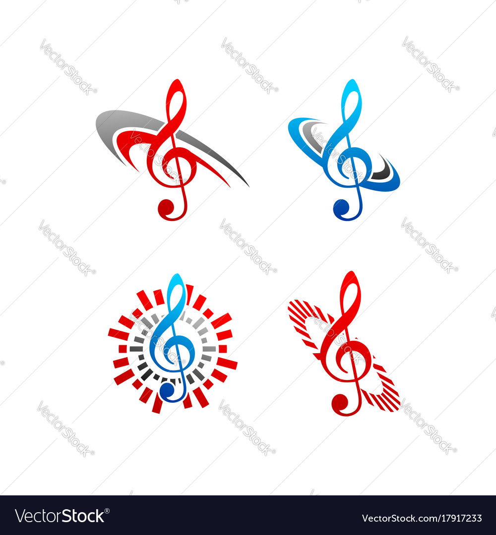 Music note logo