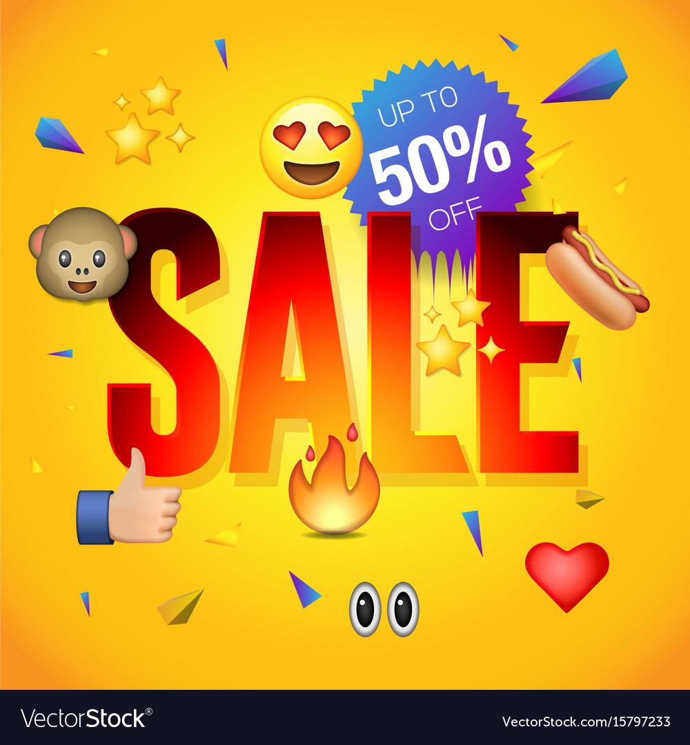 Sale poster or flyer design