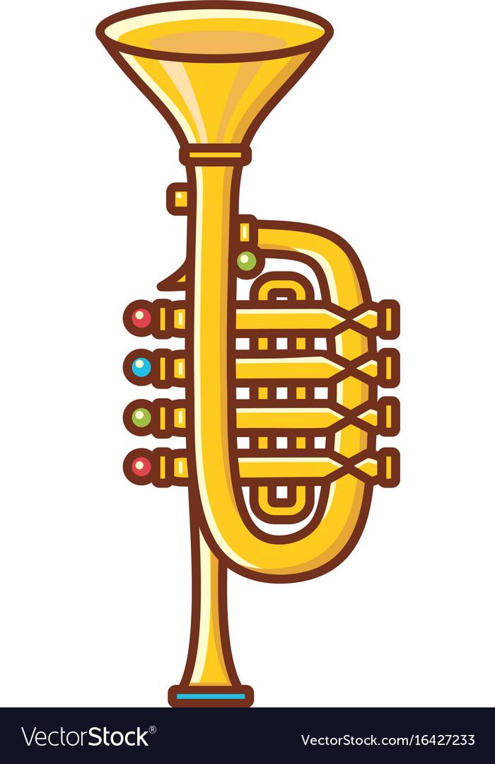 Trumpet childrens toy