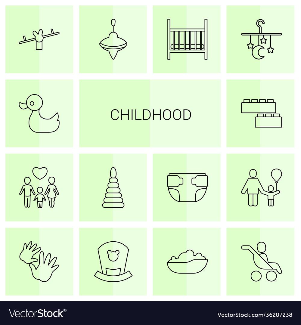 14 childhood icons
