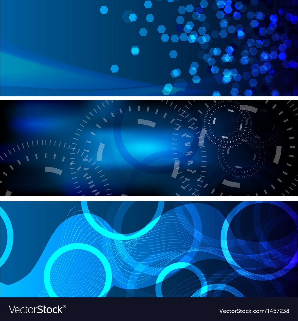 Abstract background banner01 vector image
