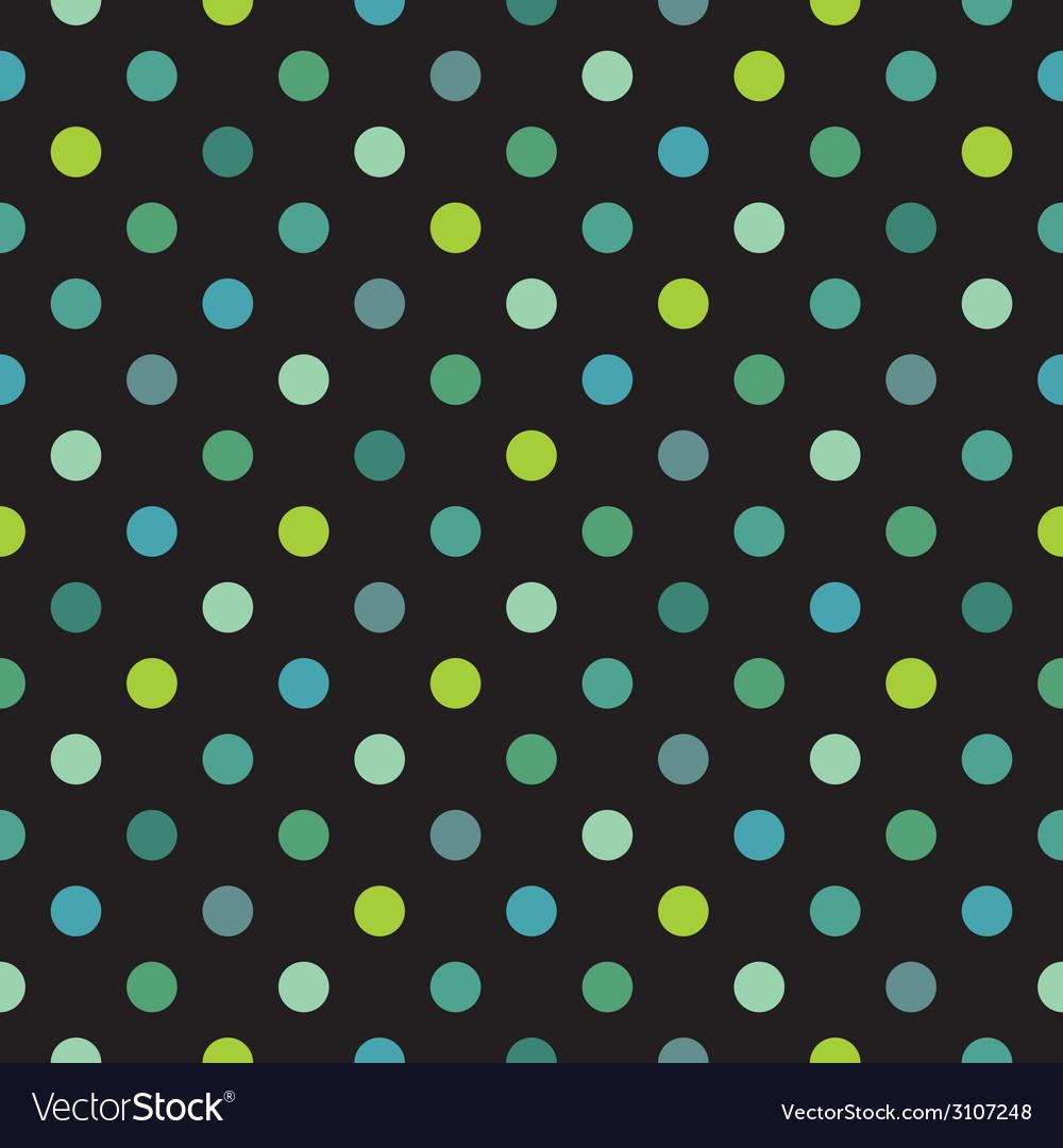 Tile polka dots dark pattern