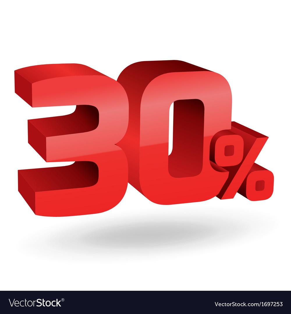 30 percent digits