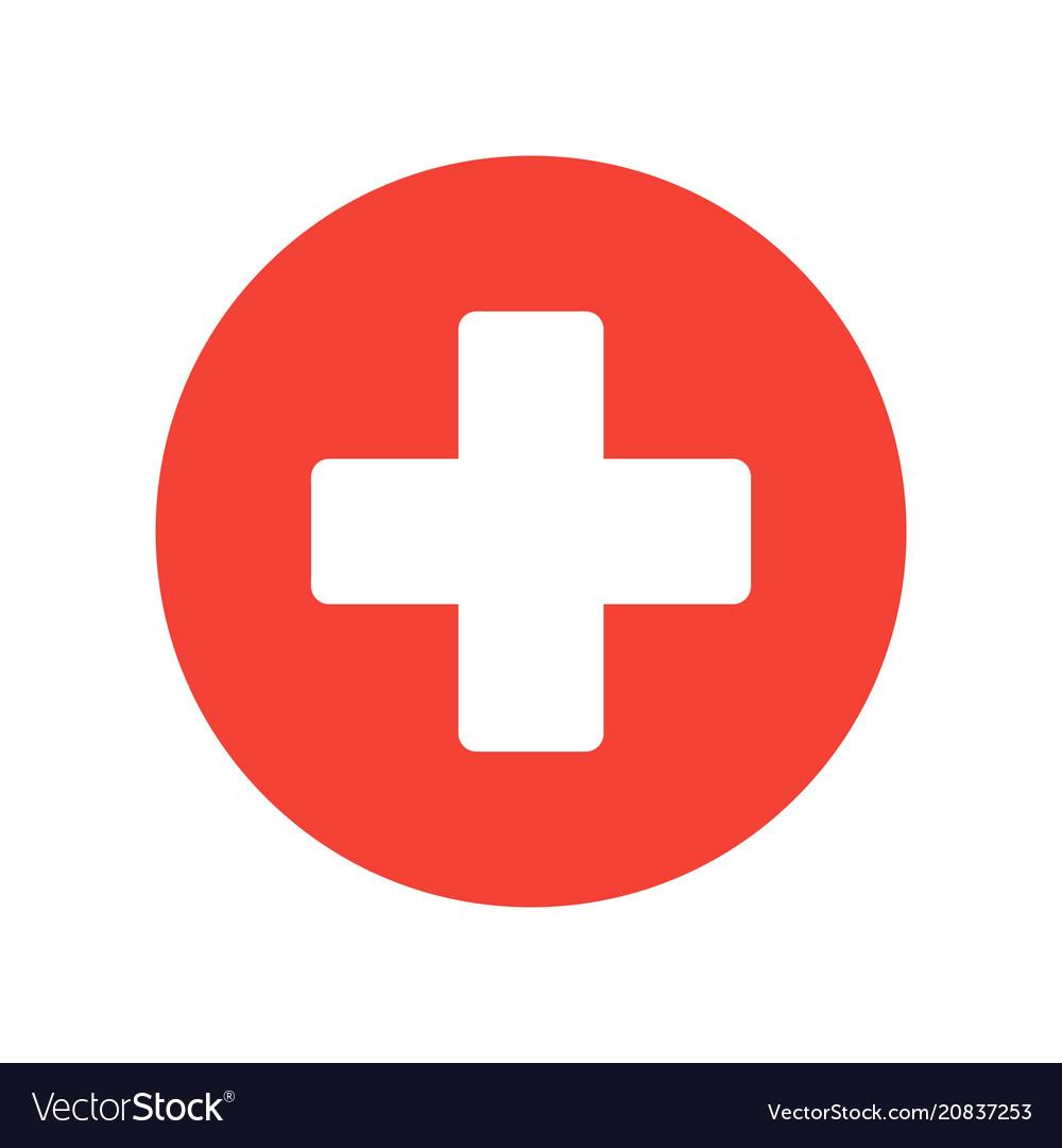 cross medical symbol royalty free vector image  vectorstock