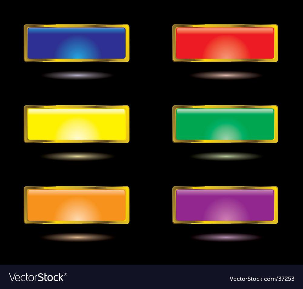 Gel lozenge vector image