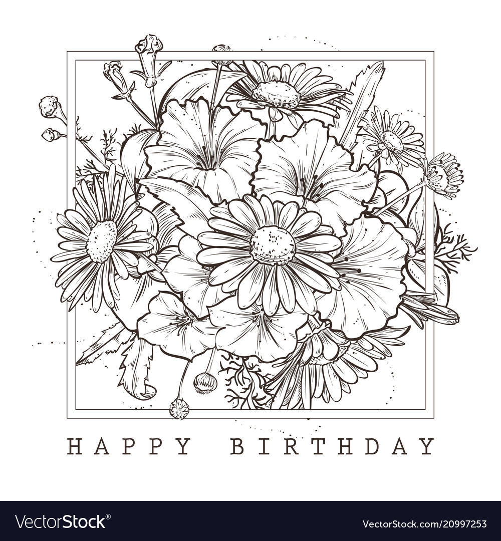 Miraculous Greeting Card With Happy Birthday Wishes Vector Image Funny Birthday Cards Online Fluifree Goldxyz