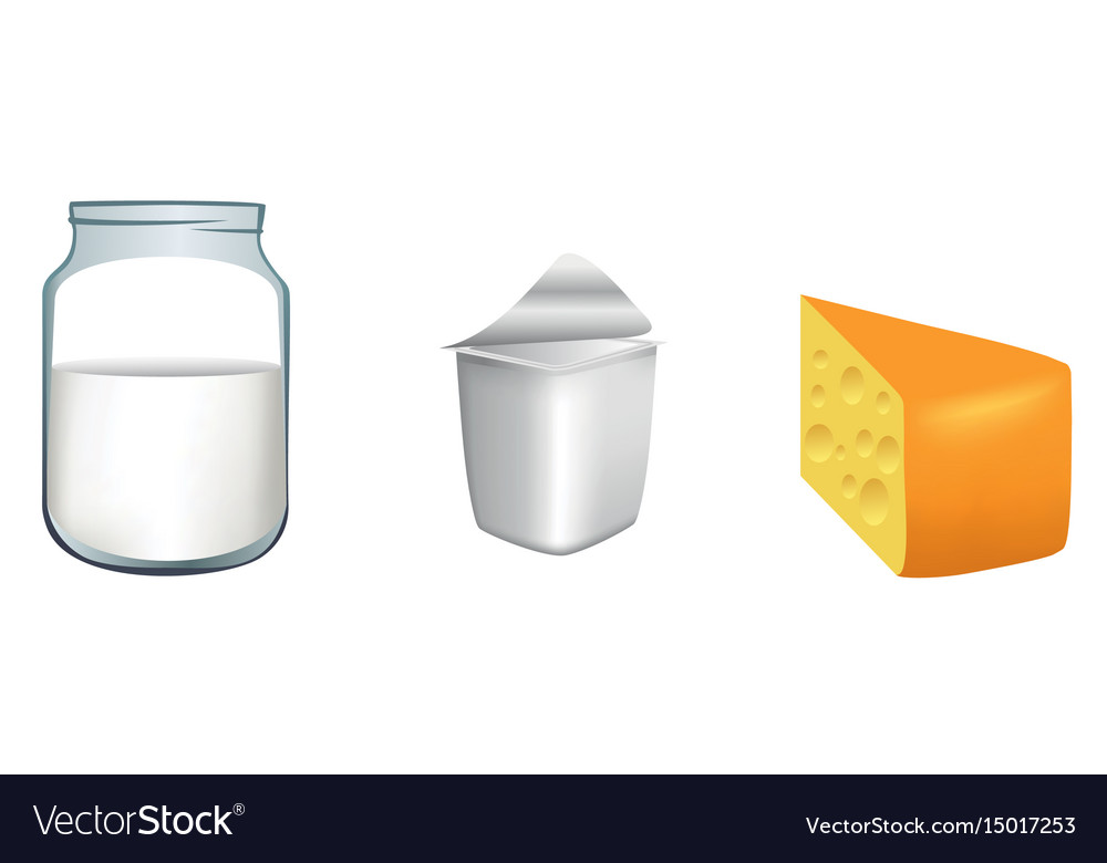 Three milk products