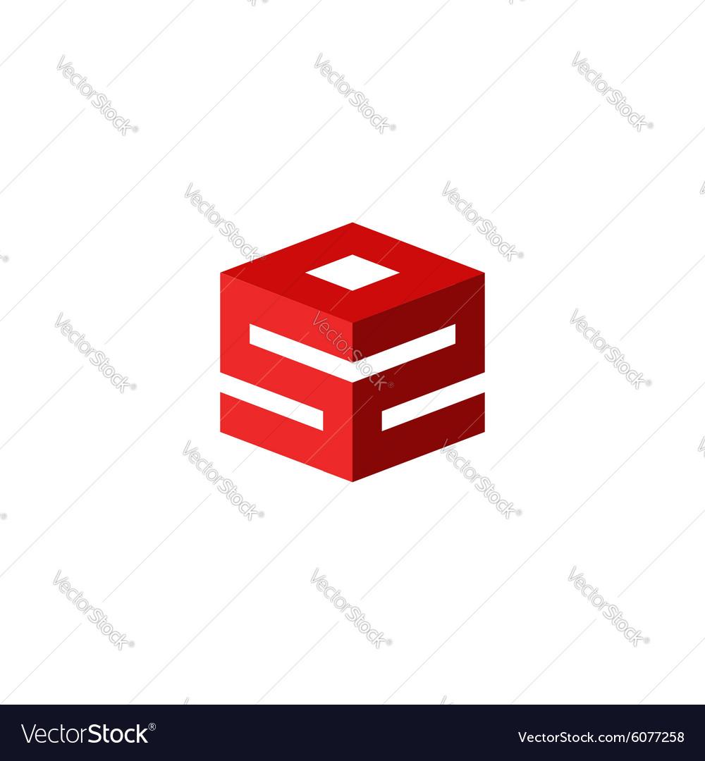 Emergency logo sos icon international rescue sign vector image