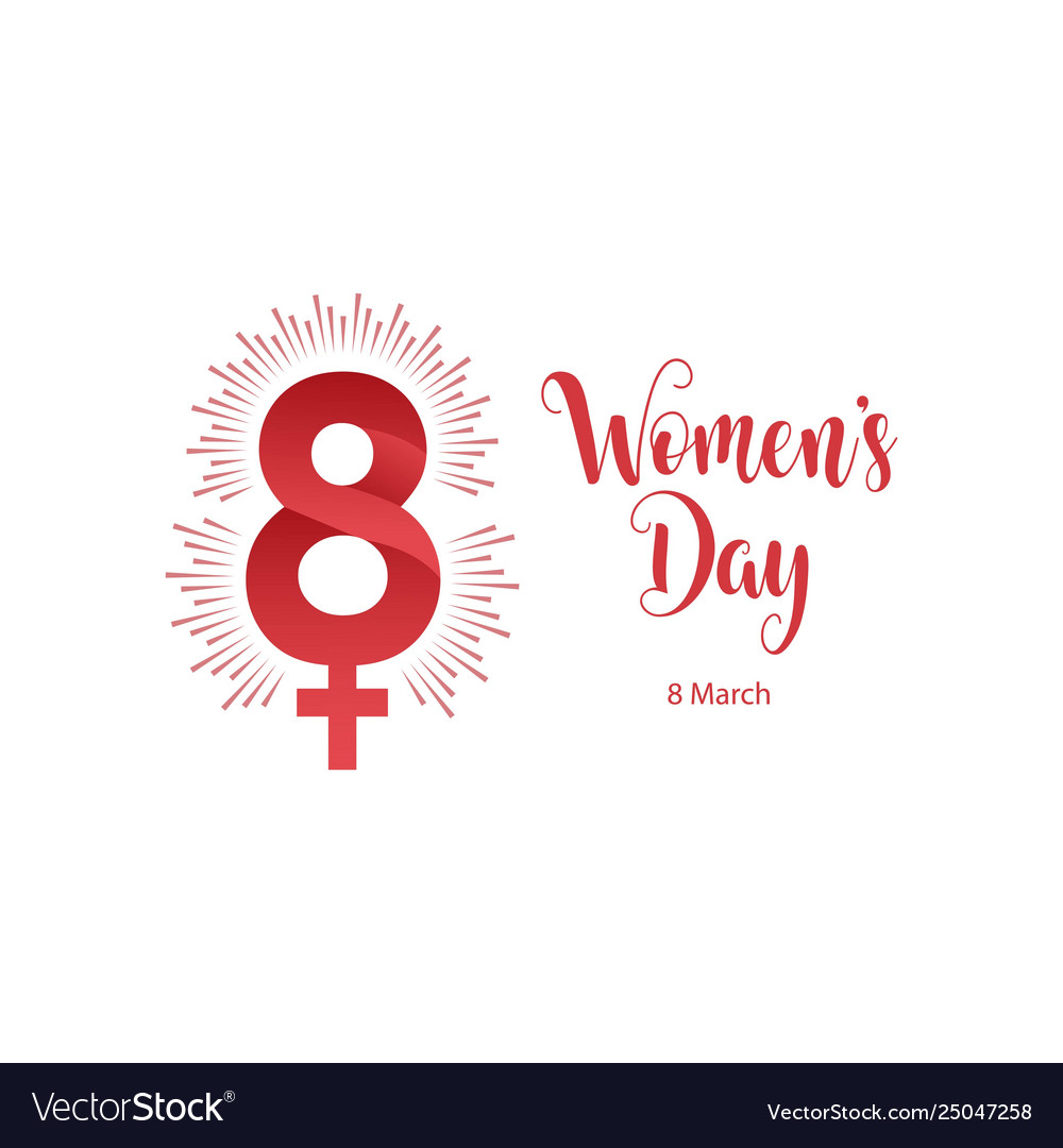 Womens day template design