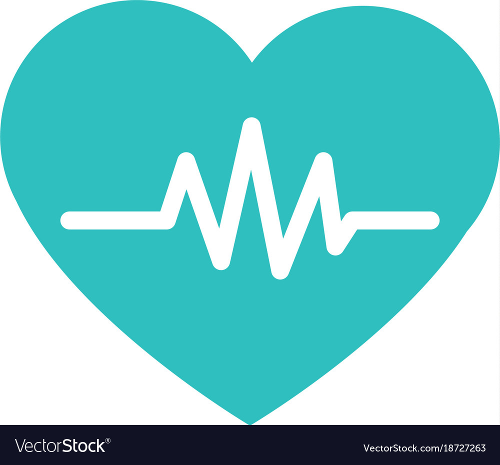 heart medical symbol royalty free vector image rh vectorstock com medical heart vector free download Medical Heart Drawing