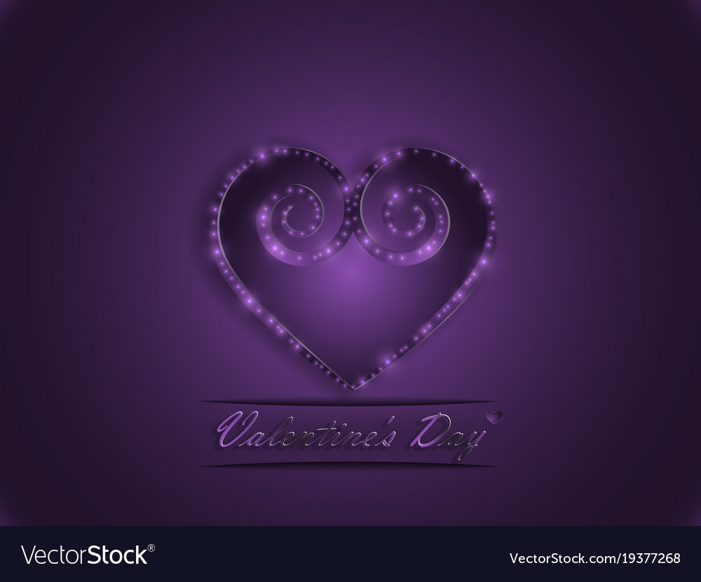 Love valentines day declaration of love