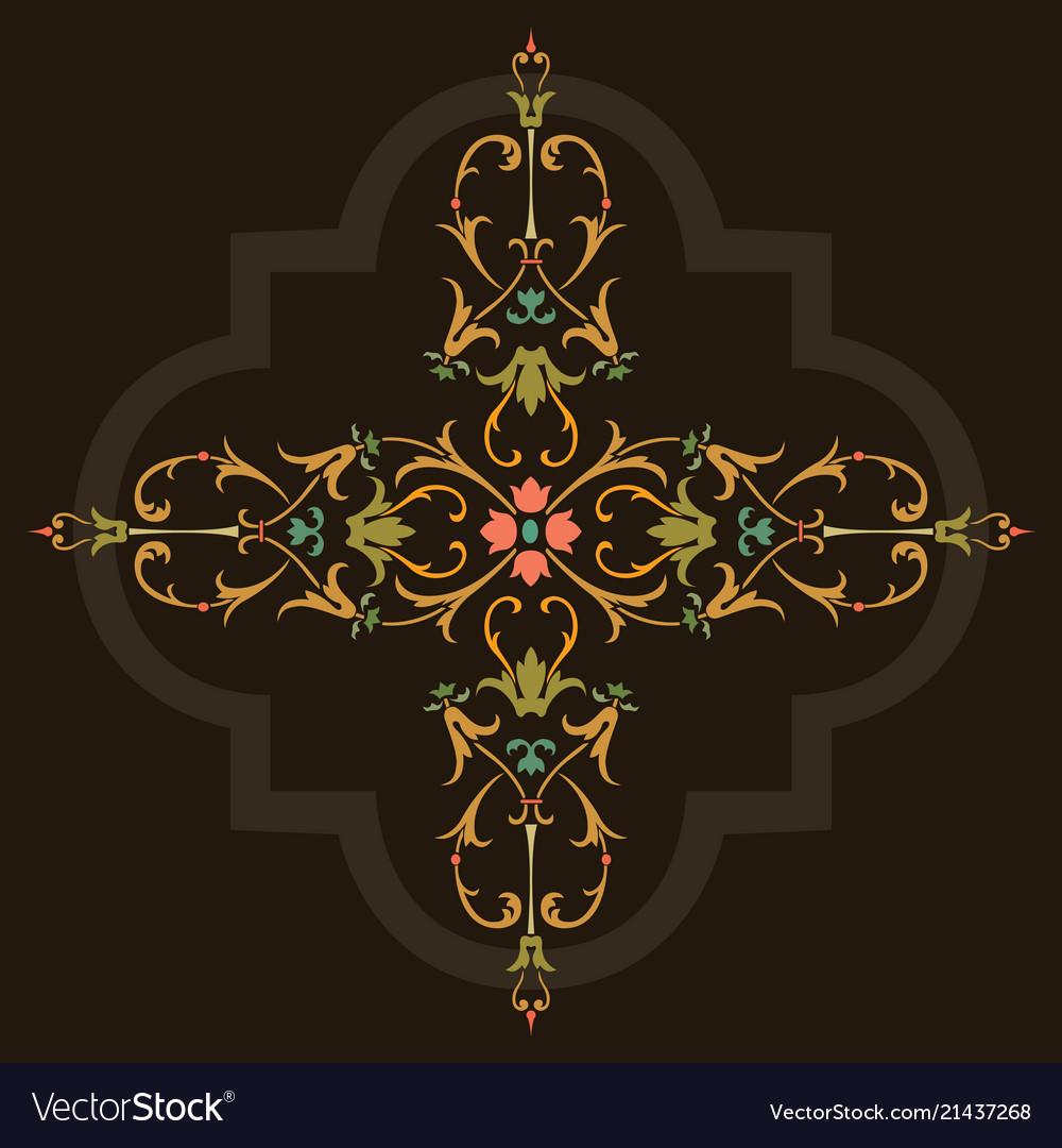Oriental ornament design